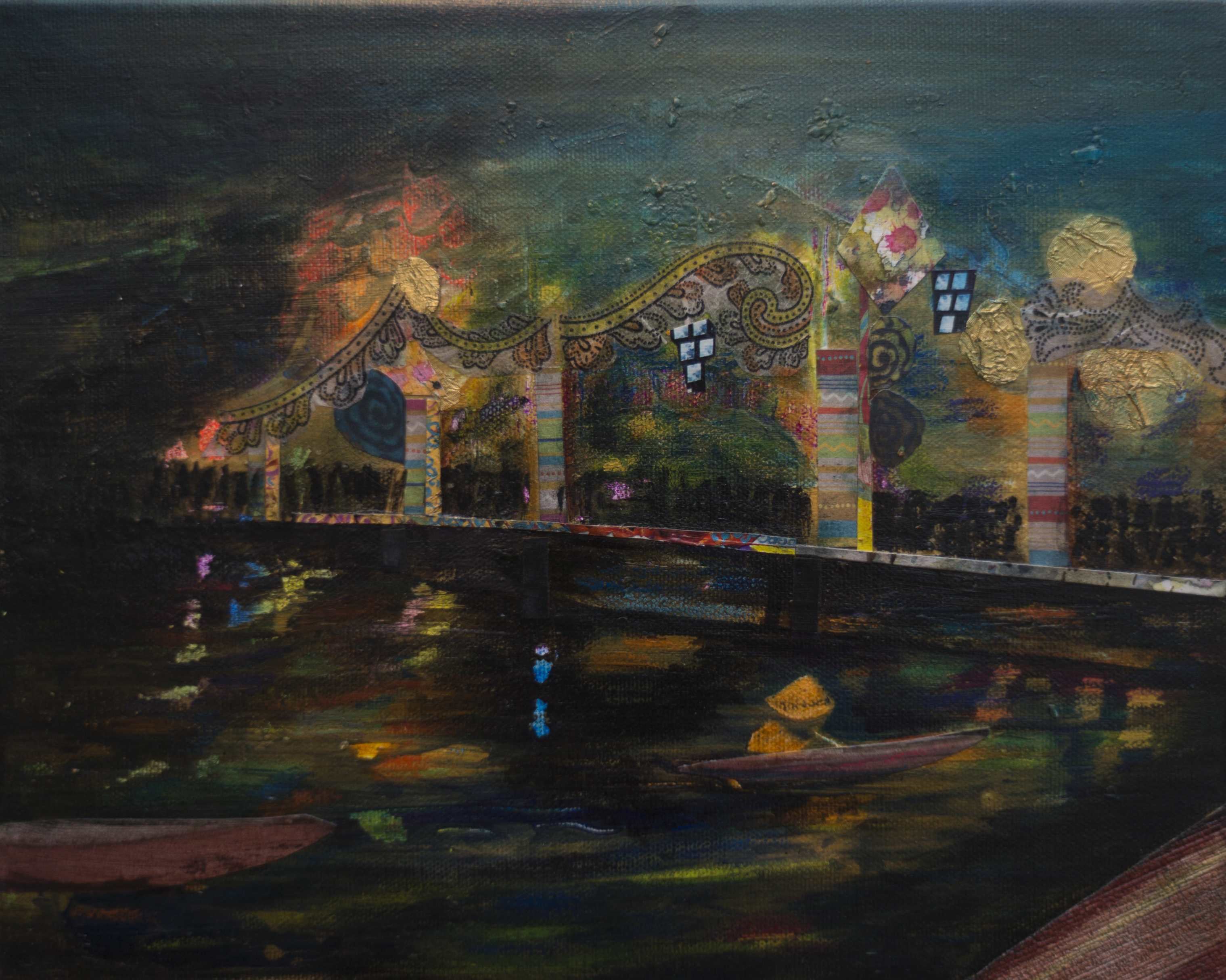 Brigde Hoi An, 2013, Mixed Media LW, 30x20cm