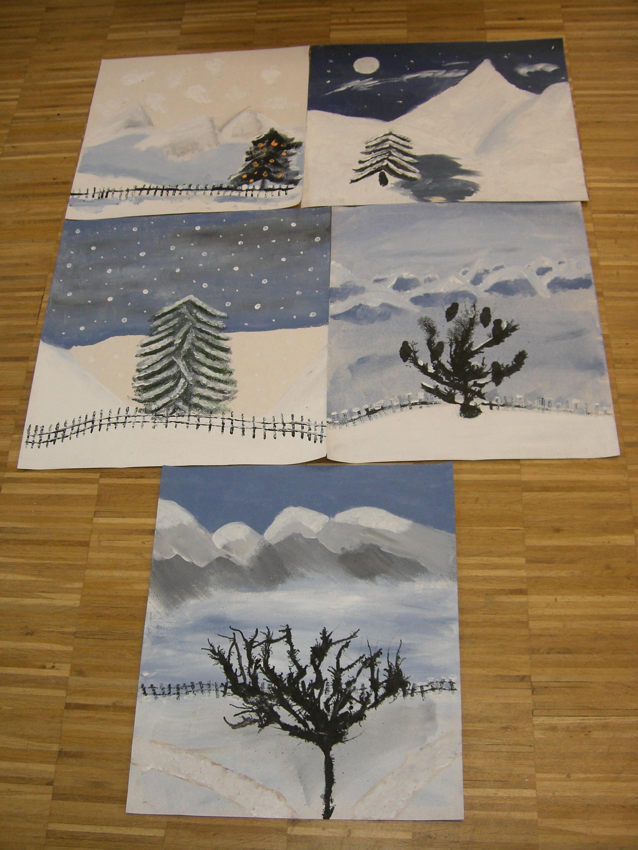 Wir malen uns den Winter